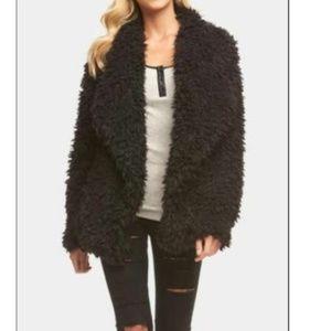 Tart Collections Women's Ari Faux Fur Jacket Coat